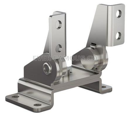 spring plate torque hinge with stamping bracket