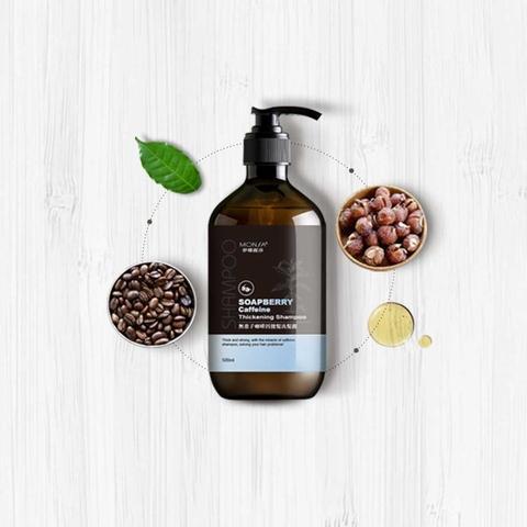 Soapberry caffeine thickening shampoo(Coffee/Floral )