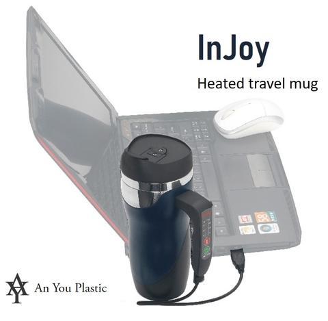 InJoy Heated Travel Mug