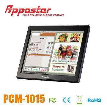 Appostar POS Monitor PCM1015 Front View