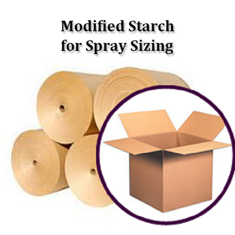 Modified Starch for Spray in paper making