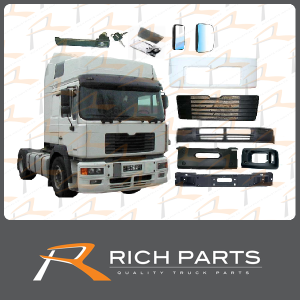 Made in Taiwan MAN Truck Cabin Parts