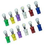 10PCS Pinball Machine LED Bulb Bayonet Base Lamp Flexible T10 LED Various Colors PA