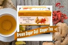 Brown Sugar Goji Ginger Tea