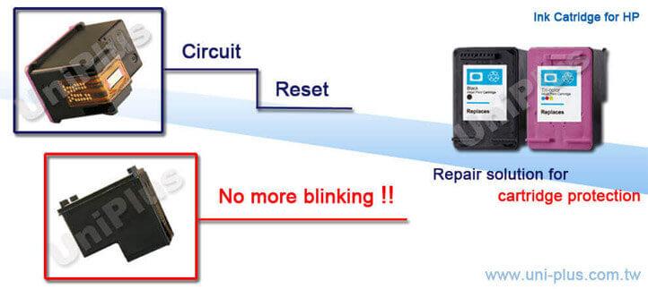 HP60-Cartucho de tinta hp-mostrar nível de tinta-Uniplus
