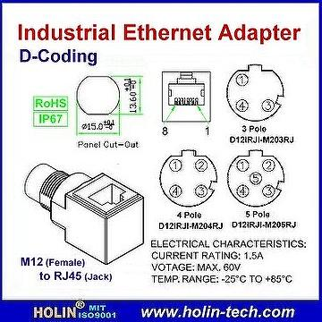 Taiwan Industrial Ethernet Adaptor, M12 to RJ45 Jack, D ... on m12 sensor cables diagram, 4 pin connector wiring diagram, phoenix connector wiring diagram, 9 pin connector wiring diagram, din connector pinout diagram, 7 wire connector wiring diagram, deutsch connector wiring diagram, fanuc alpha series encoder diagram, obd2 connector wiring diagram, 6 pin connector wiring diagram, db9 connector wiring diagram, 8 pin connector wiring diagram, m12 connectors 7 pin,