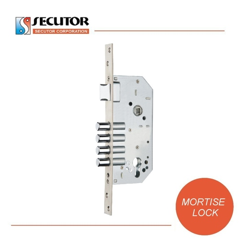 4 Round Bolt 5085 Profile Version Mortise Lock