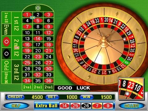 Roulette machine cheats