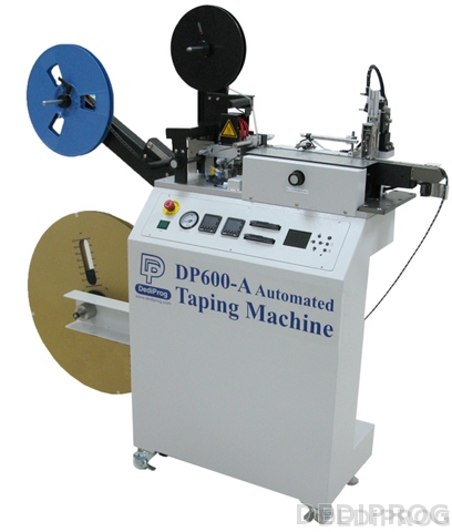 Automated IC Taping machine, tape reel packing machine
