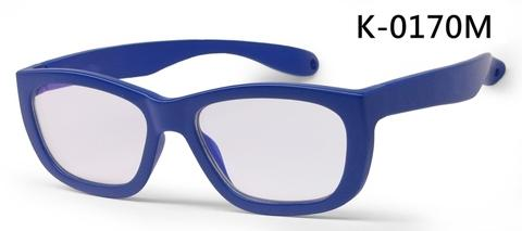 Rubber kids anti blue light glasses