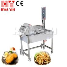 HY-585 Electric Continuous Conveyer Deep Fry Machine