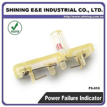 fb-6010b 120v dc fuse block led power fault indicator light