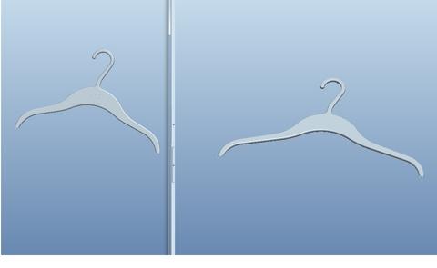 Plastic Clothes Hanger Design