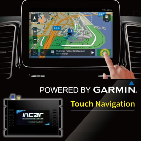 Mercedes-Benz Navigation Interfaces Powered By Garmin