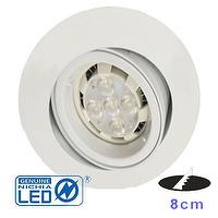 6W 3 inch LED MR16 Downlight  with NICHIA 3030 LED