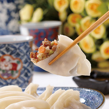CHIMEI VEGETABLE DUMPLING/frozen food/delicious/NO MEAT/ALL VEGETABLE