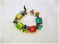 Color Glass Beads Mix B..