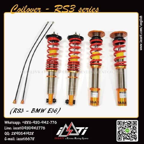 Taiwan For BMW E36 Coilovers suspension strut kits - Twin