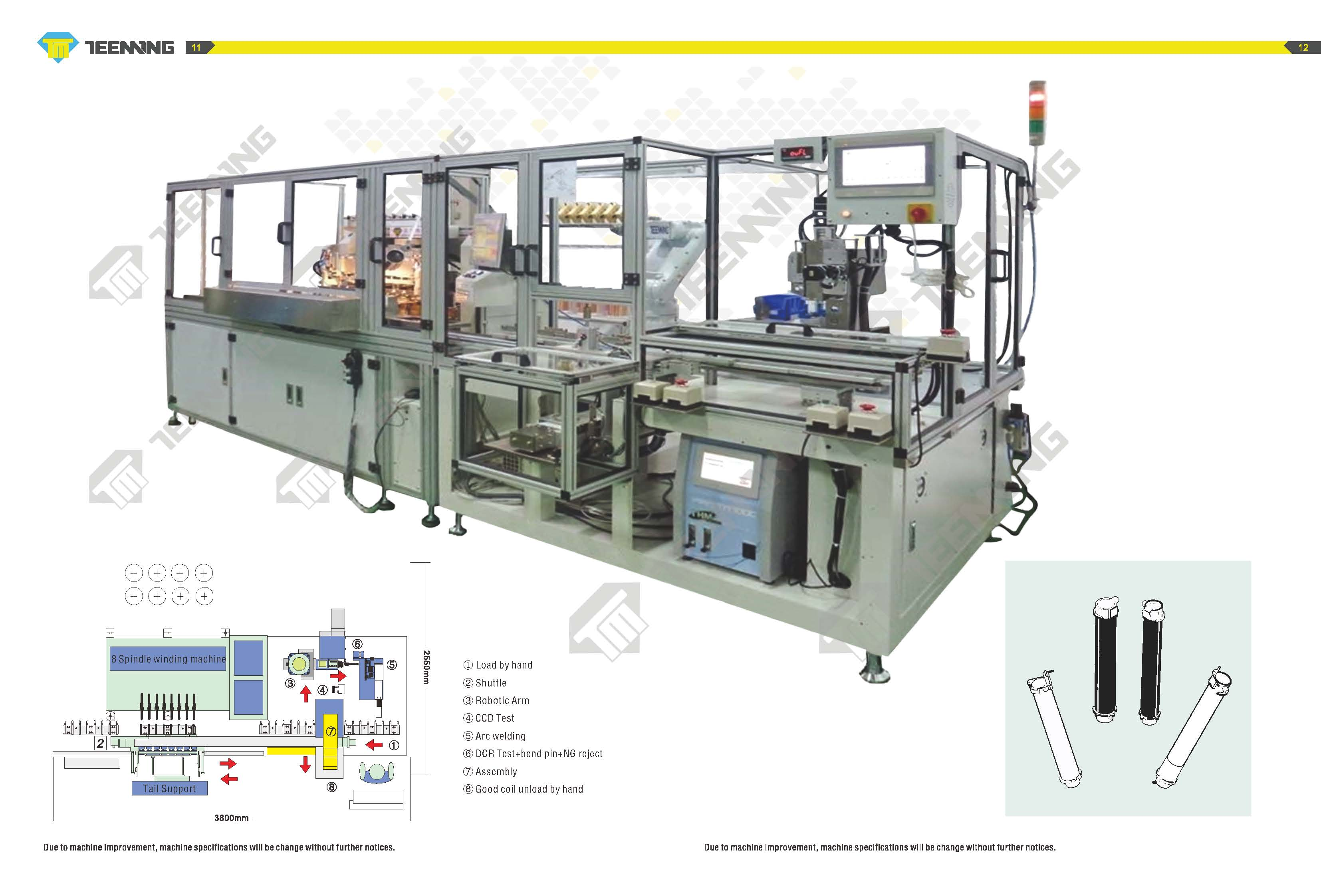 Taiwan Production Line For Automobile Ignition Coil Teeming Welding Machine Winding Diagram