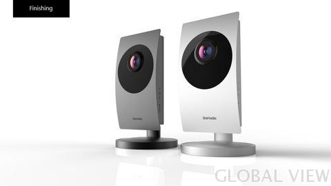 Global View Z-Wave IP Camera FHD 1080P with wide angle view