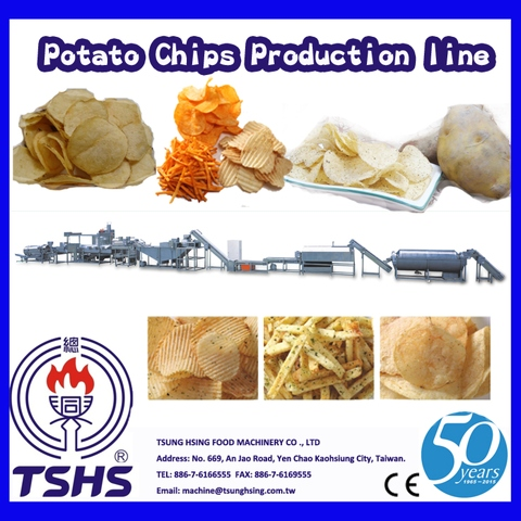 2014 Latest Continuity Stable Industry Tapioca Chips Supplier