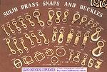 Brass Snap Hook & Buckles