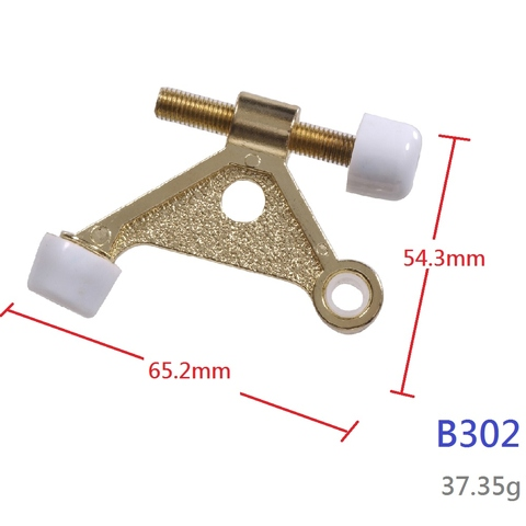 High Quality Deluxe Double Metal Hinge Pin Door Stop