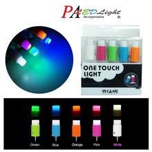 PA Push Pin LED Light 5 Different Colors Mini Nightlight