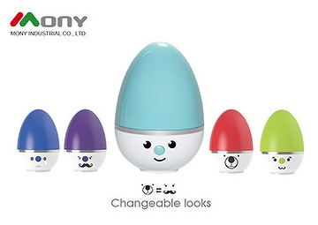 Aroma Diffuser, Humidifier, Ionic Atomizer, Amazing Egg