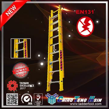 FP Fiberglass D-rung Extension Ladder