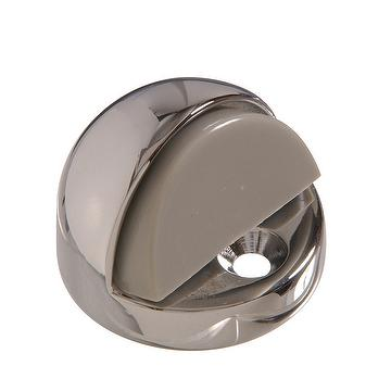 Floor wall mount dome door stop
