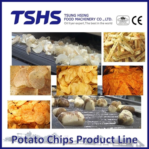 Potato Chips Making Machine