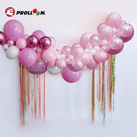 Gold and Silver balloon Arch kit  for family party