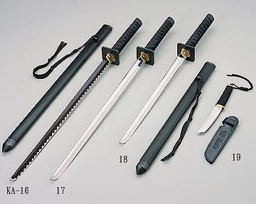 Taiwan Ninja Swords Tanto Knife Indicia Enterprise Co