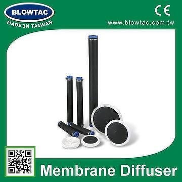 EPDM membrane fine bubble wastewater treatment