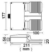Foot Switch (Foot Pedal Switch, Foot Switch, Foot Switches, Footswitch, Footswitches, Foot Operated Pedal)
