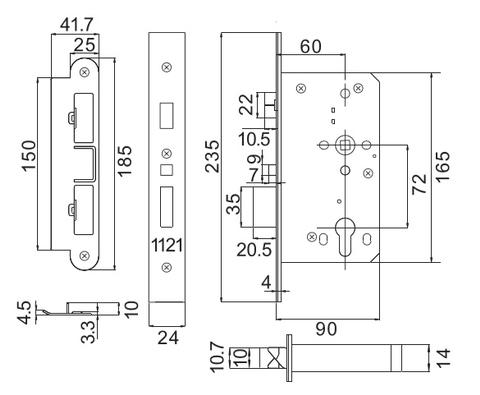 bramah lock diagram, lock picking diagram, wafer lock diagram, deadbolt  diagram, lock