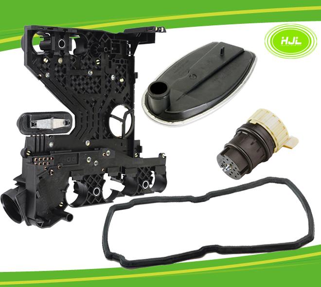 Transmission Conductor Plate+Connector+Filter+Gasket Kit fit Mercedes Benz 722.6