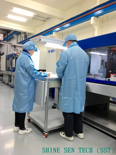 Shine Sen plastic injection factory cleanroom