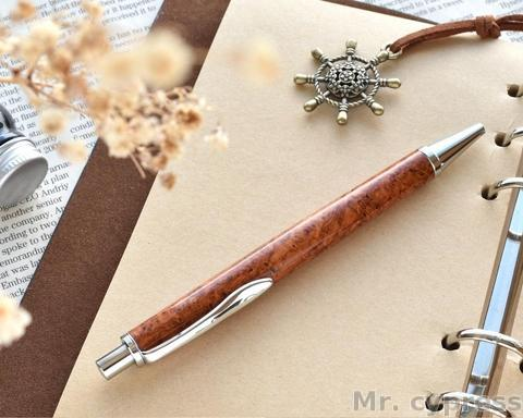 玫瑰花語鋼珠筆
