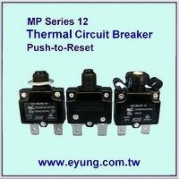 Thermal Circuit Breaker , Overload Current Protector , Heavy Duty High Rated