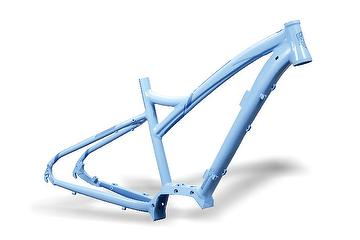 The frame and parts of Shimano bike