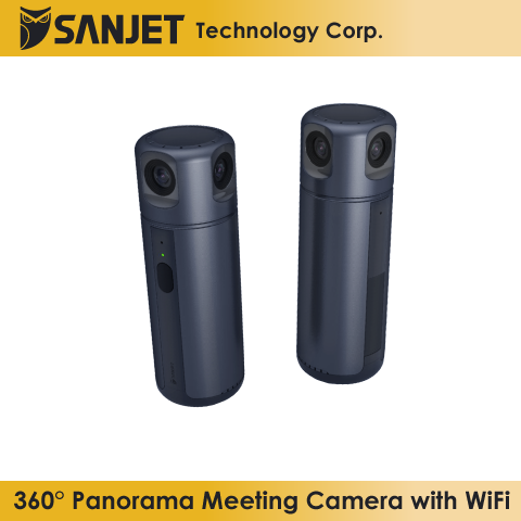 SanJet O-Meet 360° Panorama Meeting Camera With WiFi