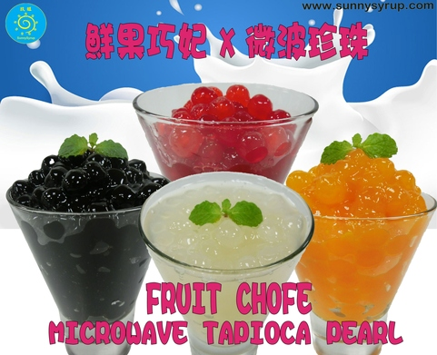 New Product Mango Microwave Tapioca Pearl Taiwan Bubble Tea Supplier Sunnysyrup