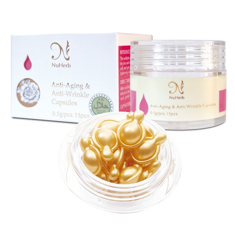 Anti-Aging & Anti-Wrinkle Capsules, skin care products