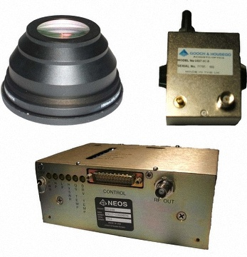 Laser peripheral components