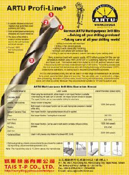 Multi-Purpose Drill Bits