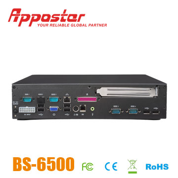 BOX PC BS6500 back