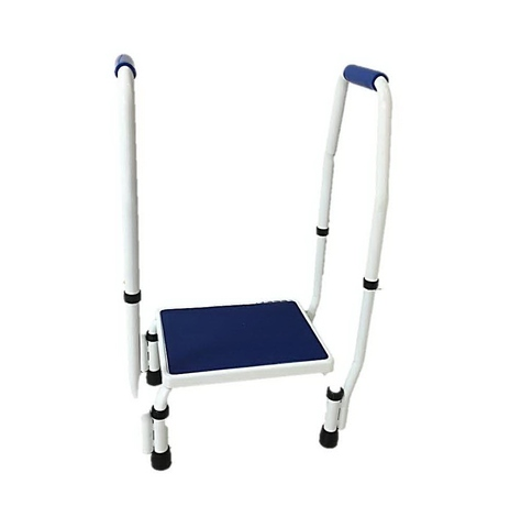 Remarkable Taiwan Step Stool With 2 Handle Blue Base Taiwantrade Cjindustries Chair Design For Home Cjindustriesco