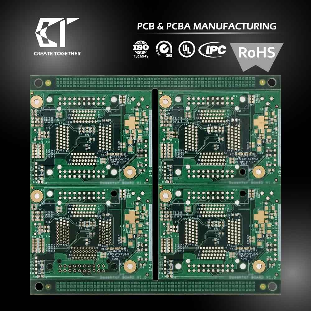 Taiwan Pcb Manufacturer Custom Prototype 94v0 Circuit Board Pcba Boards Assembly With Rohs Ru